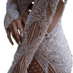 Amazing Beads on Wedding Gown alteration