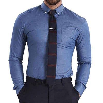 BLUE SHIRT DRESSES ALTERATION ONLINE