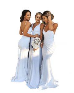 Best white bridesmaids