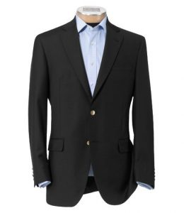 Black Suit Alteration at Home
