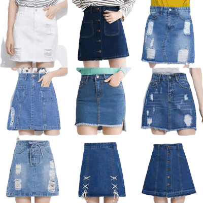 Jeans Skirts Alteration