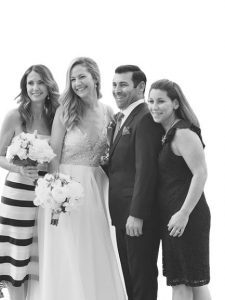 Marisa &Angelo Wedding Picture With friends