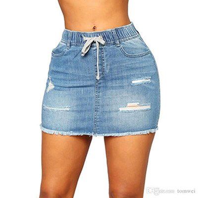 Sexy Jeans Skirt