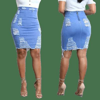 Sexy Jeans Women High Waist