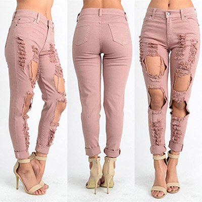 Sexy Pink Jeans